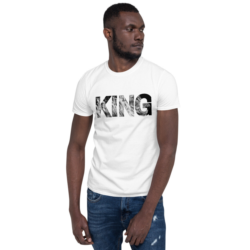 KING Short-Sleeve Mens T-Shirt