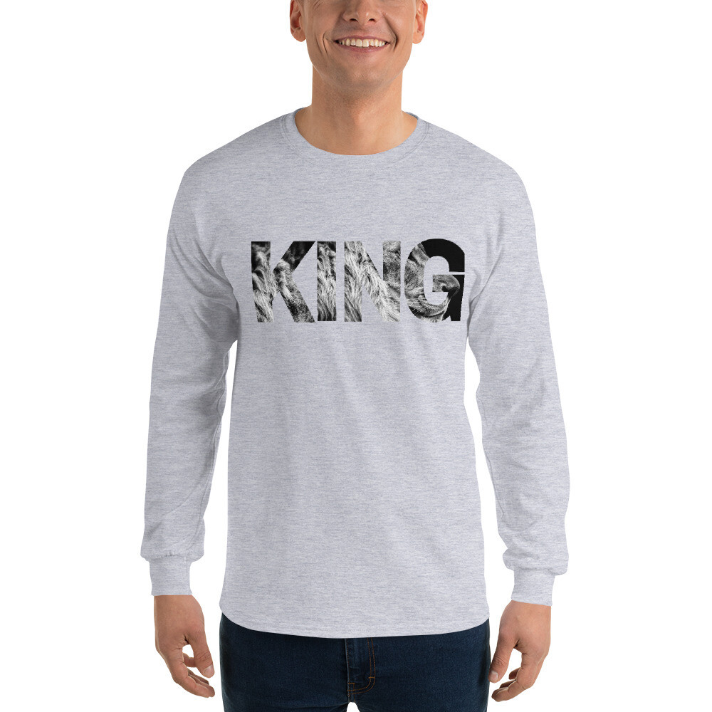 KING - Men's Long Sleeve Shirt