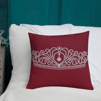 Crowned - Premium Pillow