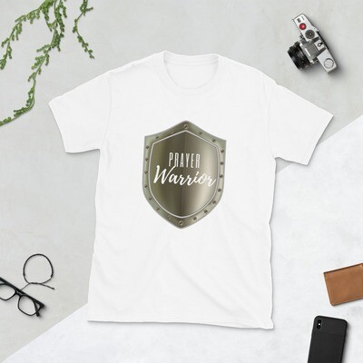 Prayer Warrior Shield Short-Sleeve Unisex T-Shirt