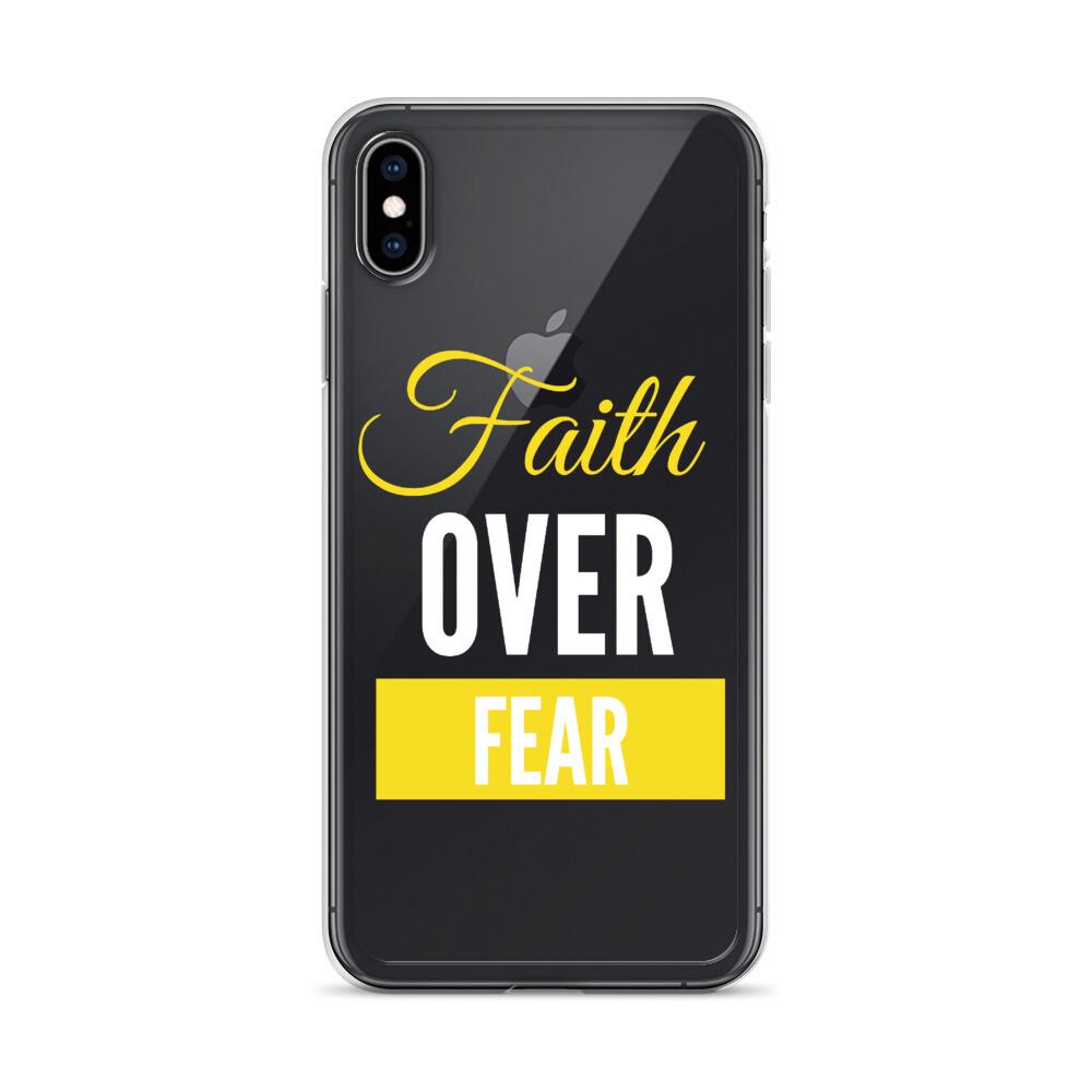 Faith Over Fear iPhone Case