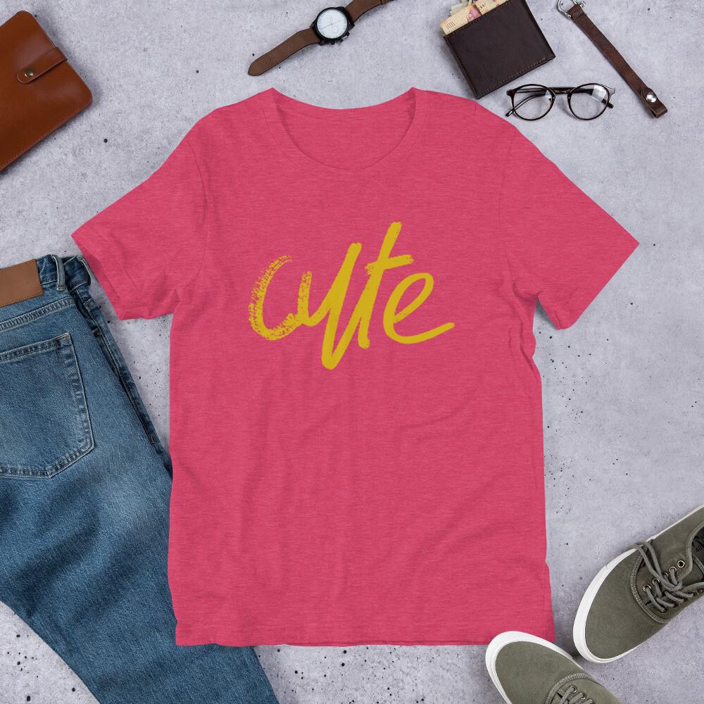 Cute - Short-Sleeve Unisex T-Shirt