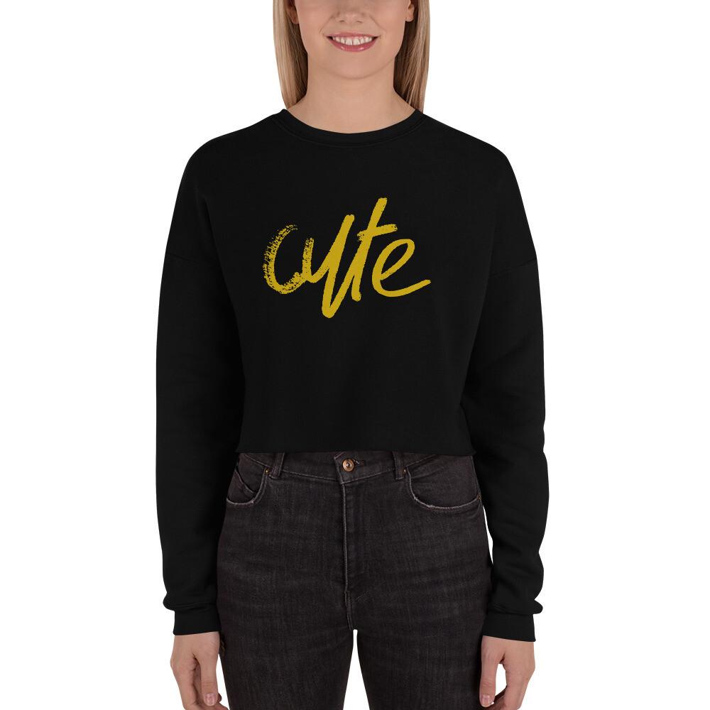Cute - Crop Sweatshirt