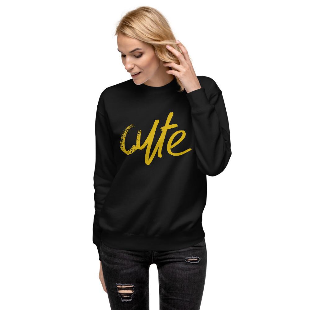 Cute - Women's Fleece Pullover