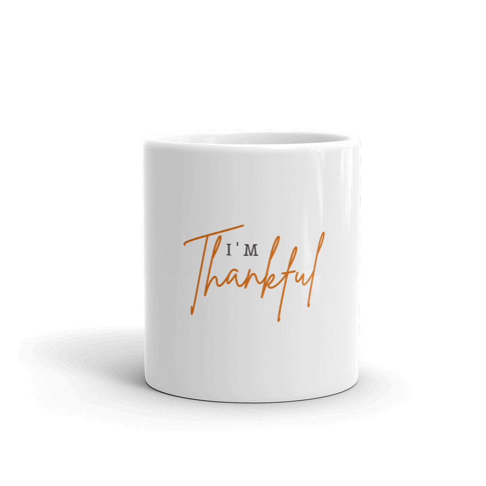 I'm Thankful Mug