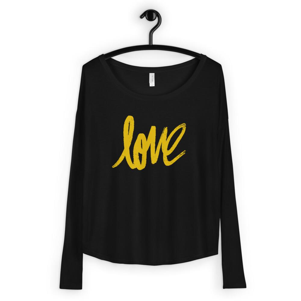 Love - Ladies' Long Sleeve Tee
