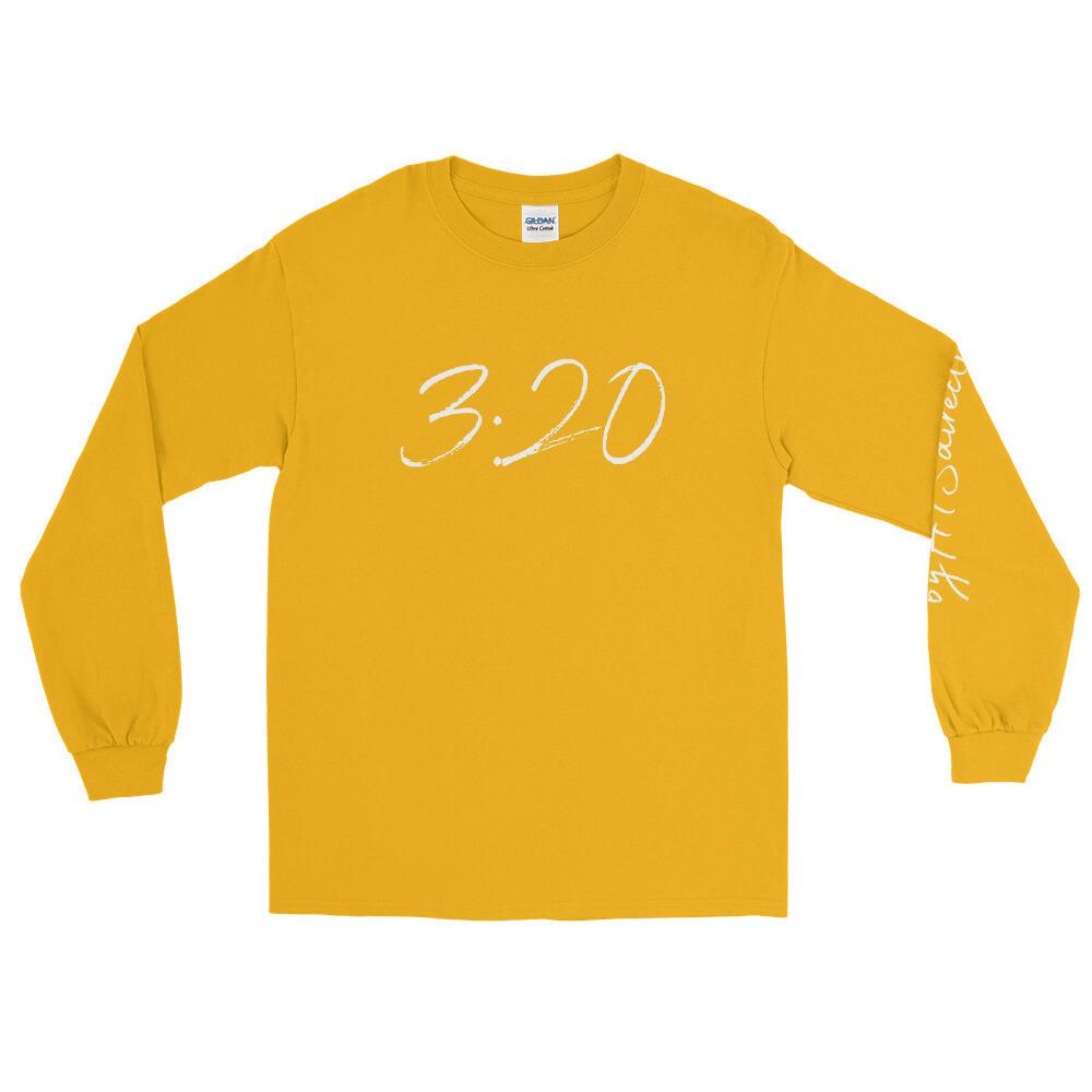 Exceedingly Abundantly - Ephesians 3:20 Men's Long Sleeve Shirt