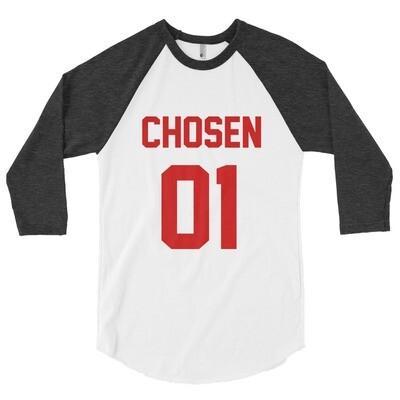 Chosen One - 3/4 sleeve raglan shirt