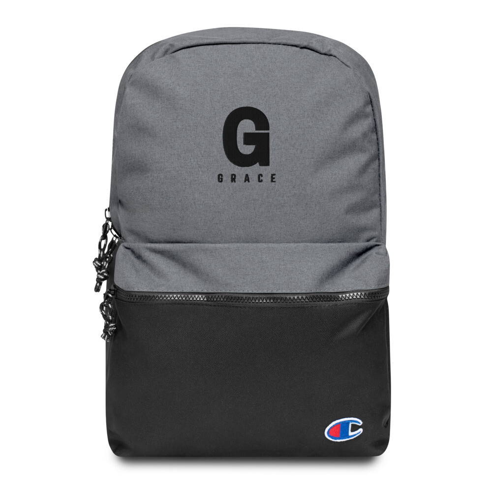 G Embroidered Champion Backpack
