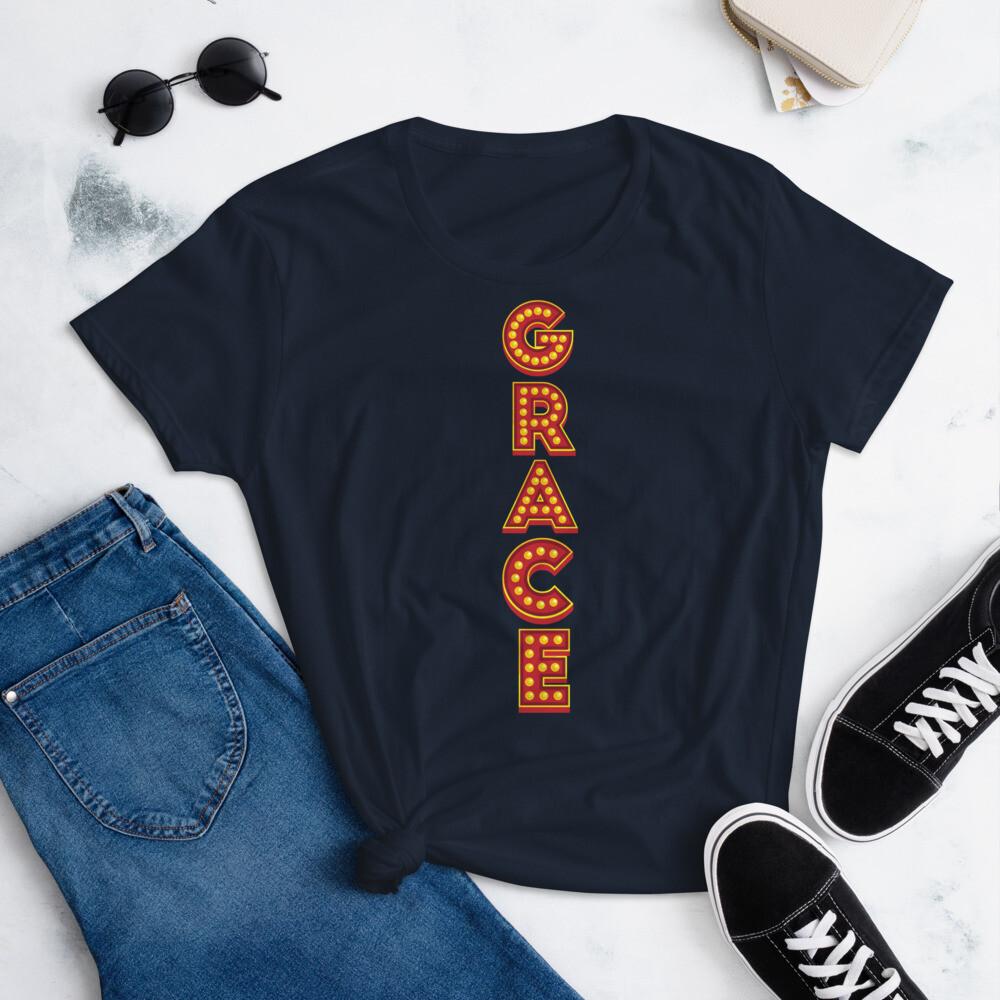 Grace Show lights Women's short sleeve t-shirt