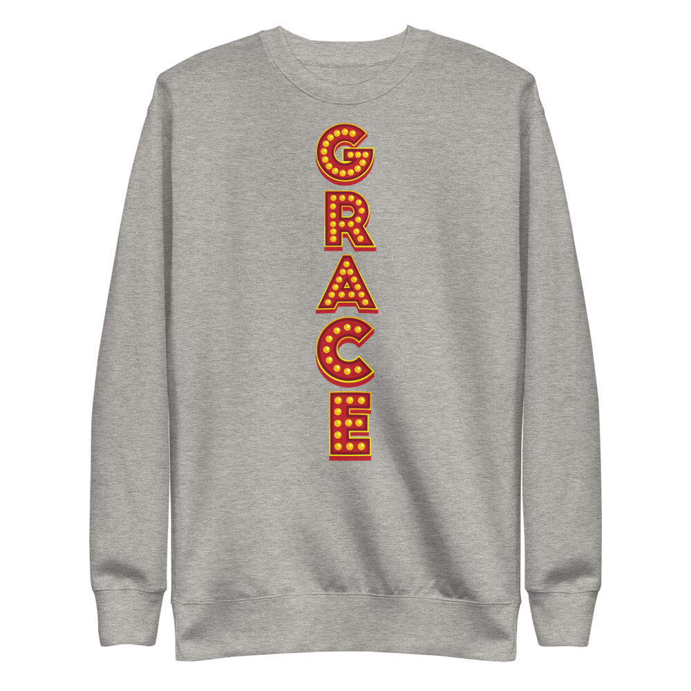 Grace Show Lights Unisex Fleece Pullover