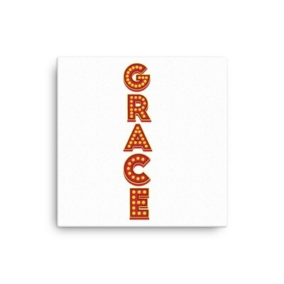 Grace Show Lights Canvas