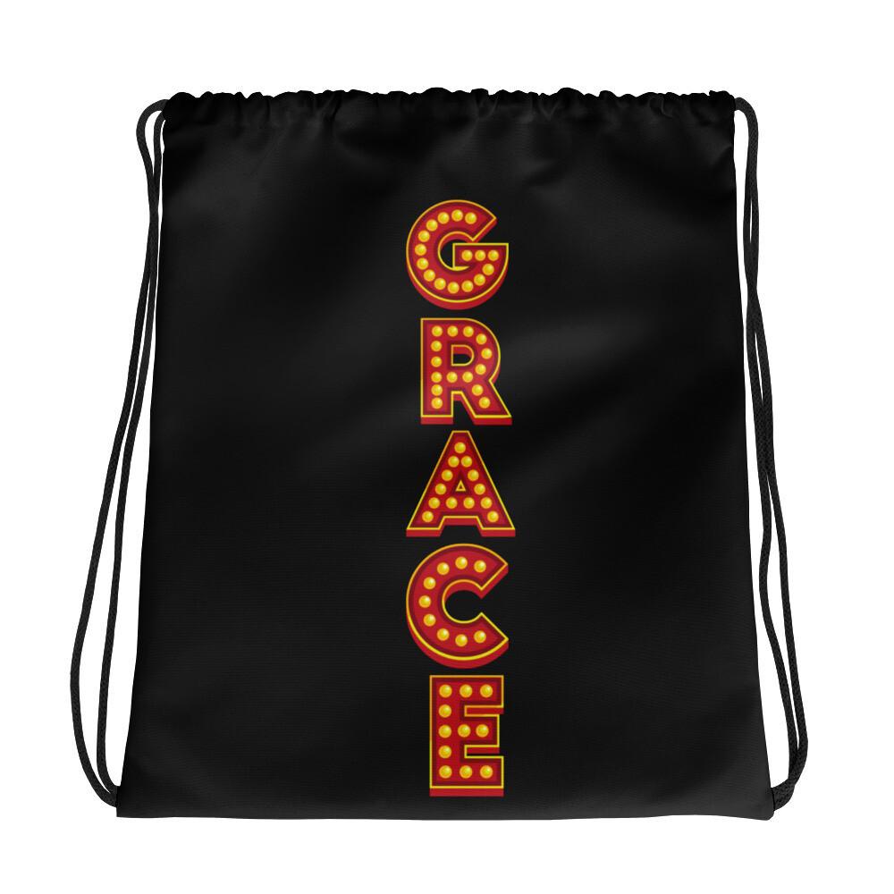 Grace Show Lights Drawstring bag