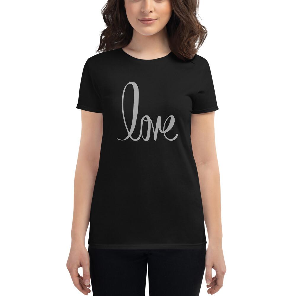 Love Script 2 Women's short sleeve t-shirt