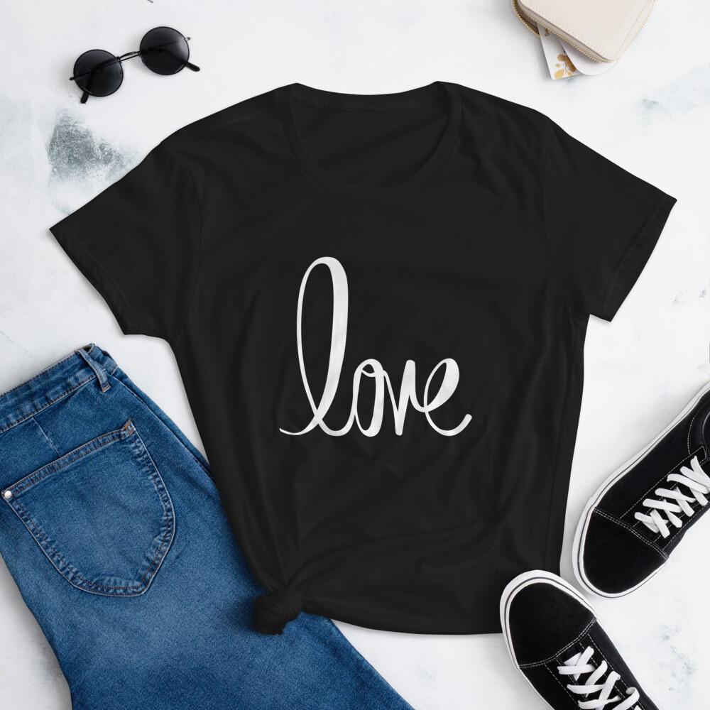 Love Women's short sleeve t-shirt