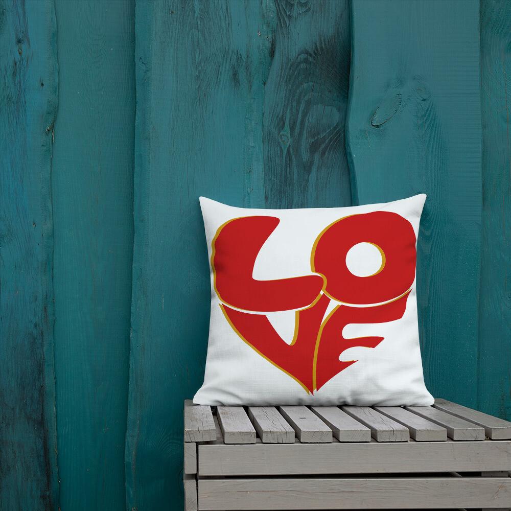 70's Love Premium Pillow