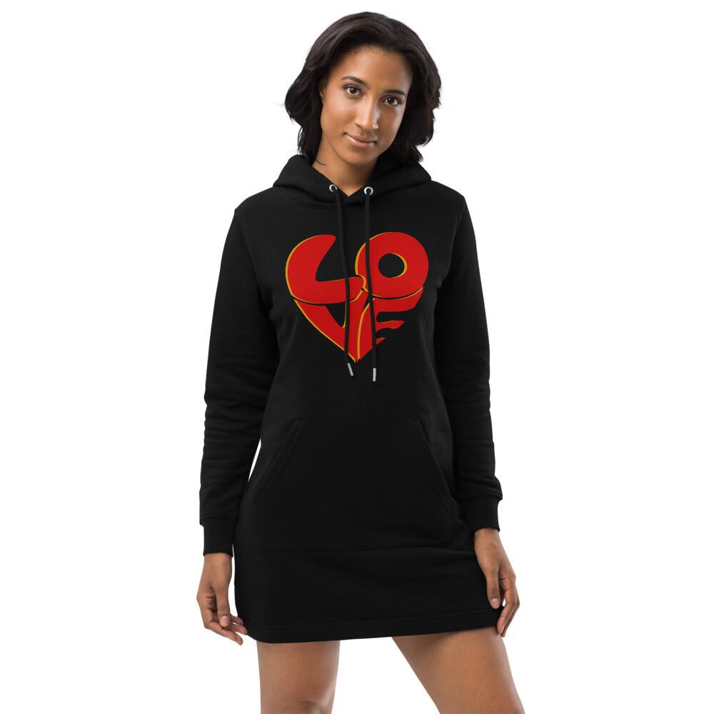 70's Love Hoodie dress