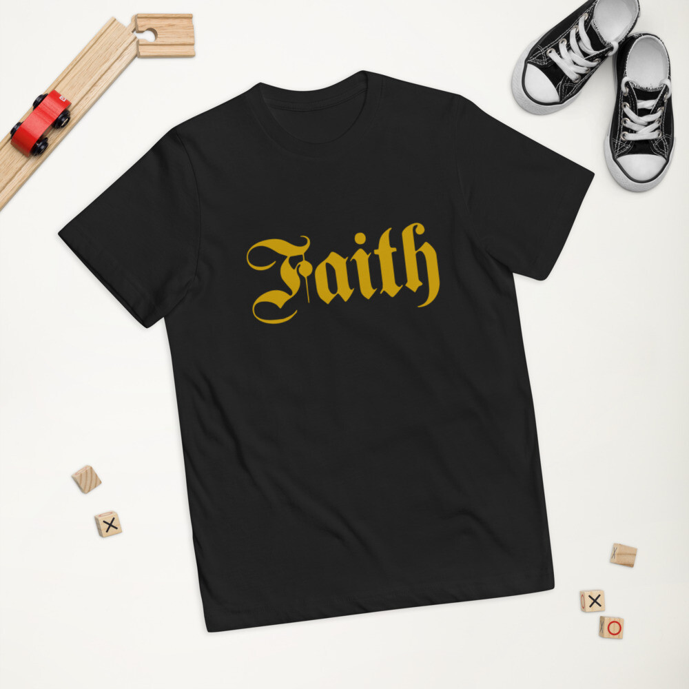 Classic Faith Youth jersey t-shirt