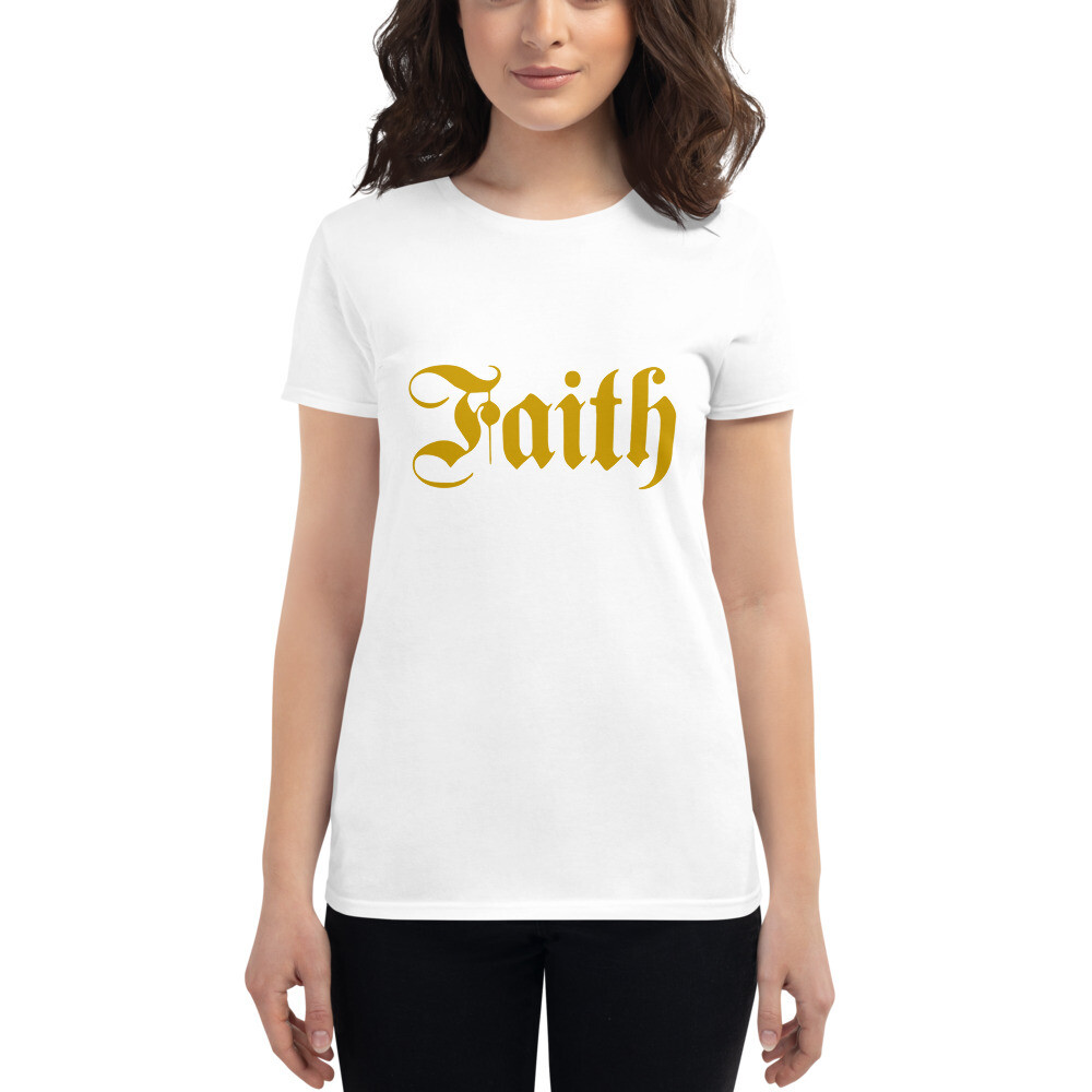 Classic Faith Women's short sleeve t-shirt