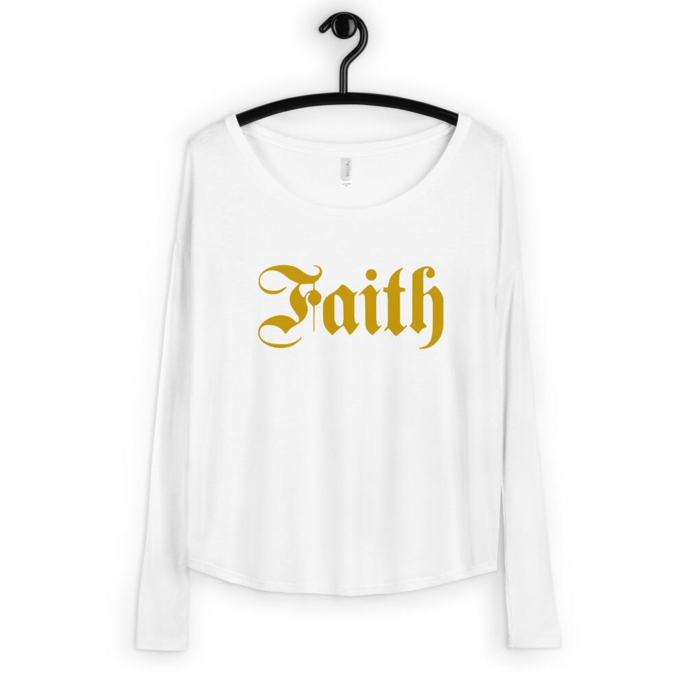 Classic Faith Ladies' Long Sleeve Tee