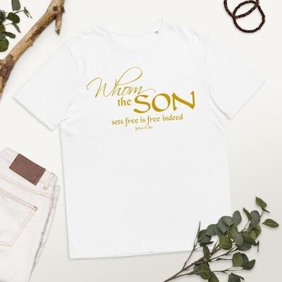 Set Free Unisex organic cotton t-shirt
