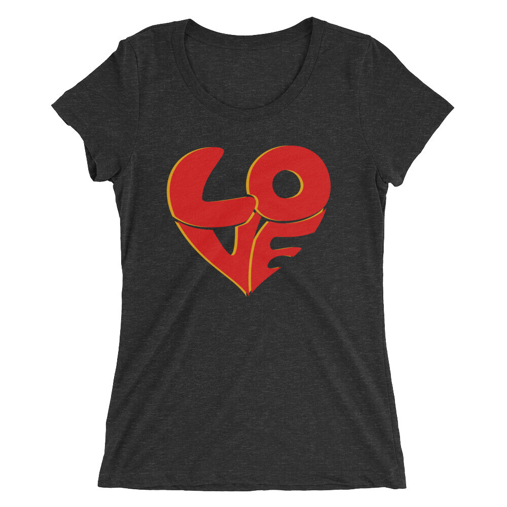 70's Love B Ladies' short sleeve t-shirt