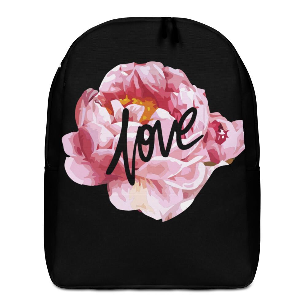 Love Flowers Minimalist Backpack