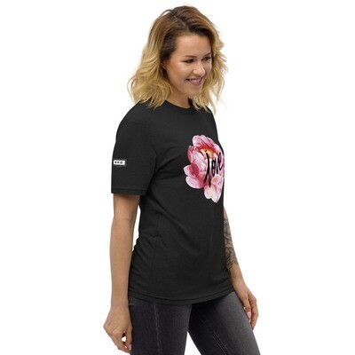 Love Flowers Ladies recycled t-shirt