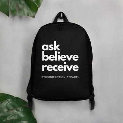 ask believe receive Minimalist Backpack