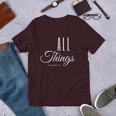 All Things Short-Sleeve Unisex T-Shirt