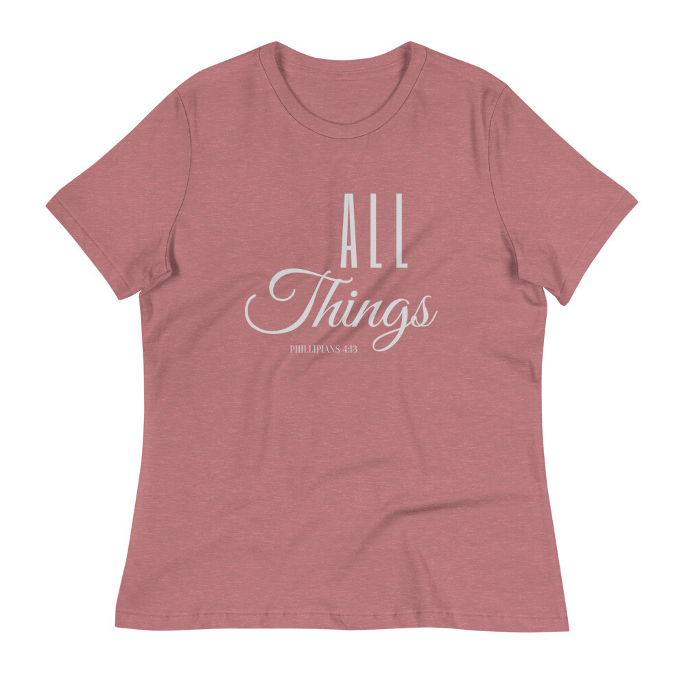 All Things Women's Relaxed T-Shirt