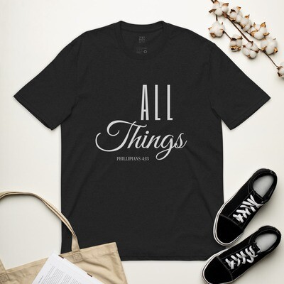 All Things Unisex recycled t-shirt - Grey
