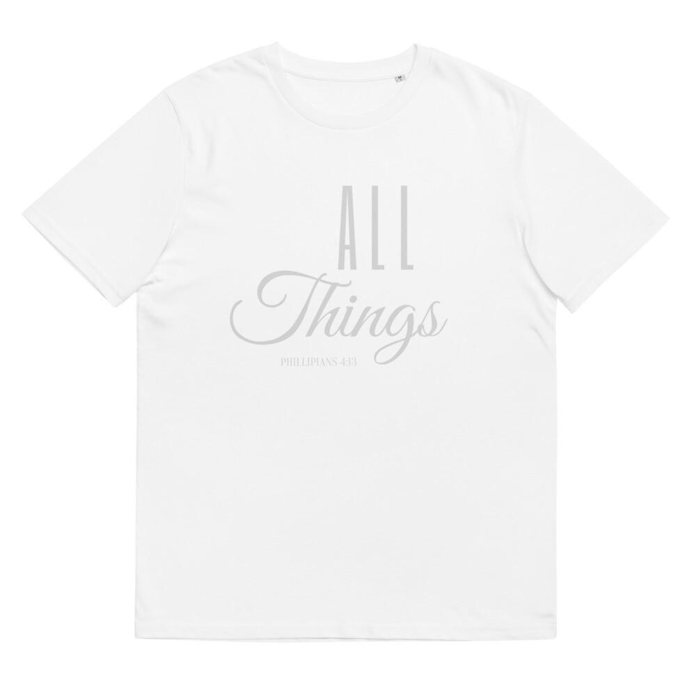 All Things organic cotton t-shirt
