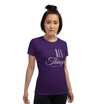 All Things Women's short sleeve t-shirt - Grey