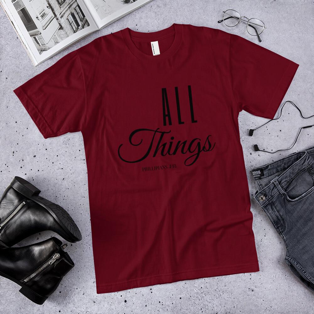 All Things T-Shirt - Black