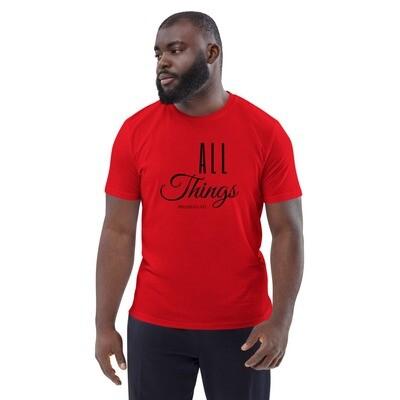 All Things Unisex organic cotton t-shirt - Black