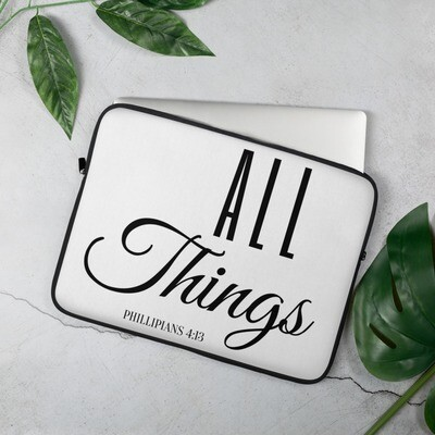 All Things Laptop Sleeve