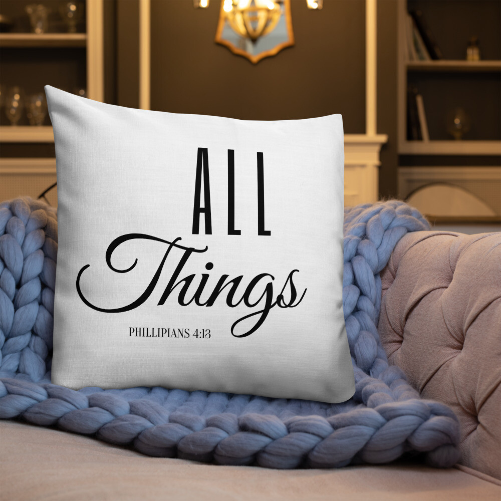 All Things Premium Pillow