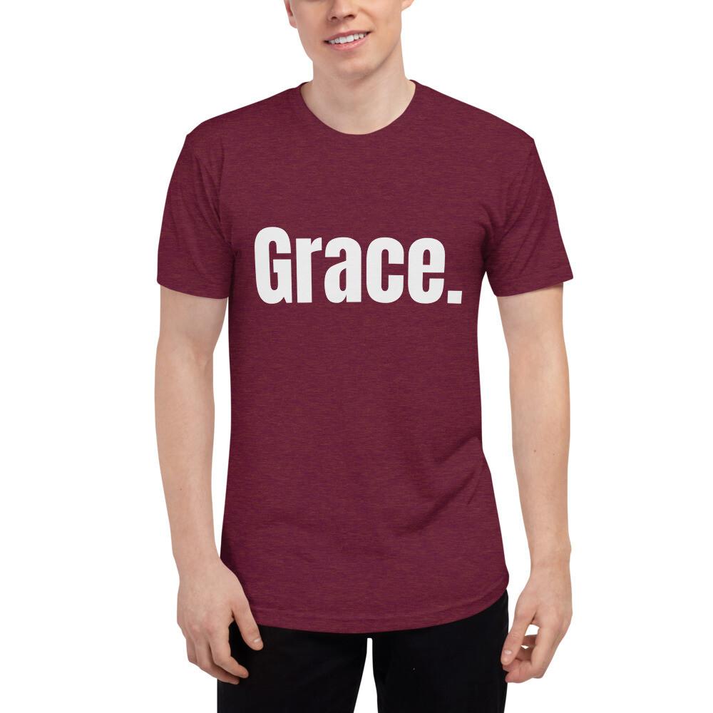 Grace Period Unisex Tri-Blend Track Shirt