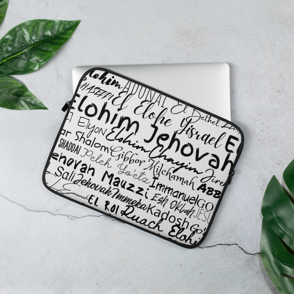 HIS name Laptop Sleeve