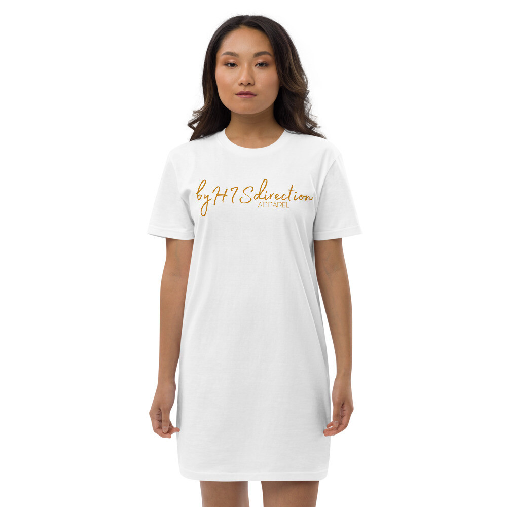 BHD Apparel Script Organic cotton t-shirt dress