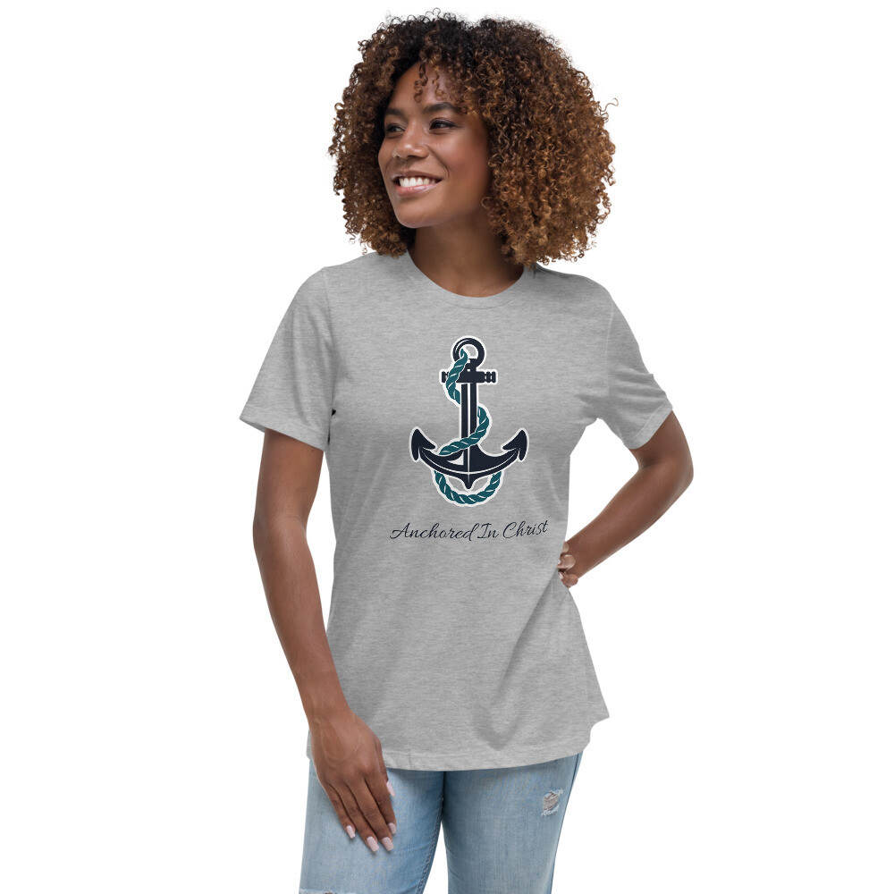 Anchored in Christ - Women's Relaxed T-Shirt
