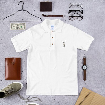 Yes & Amen Embroidered Polo Shirt