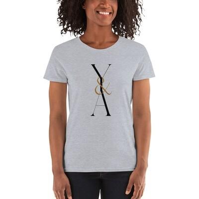 Yes & Amen Women's short sleeve t-shirt