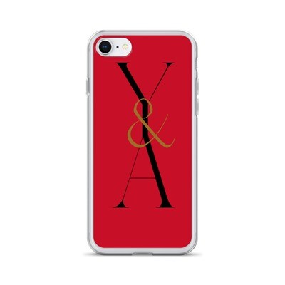 Yes & Amen Red iPhone Case