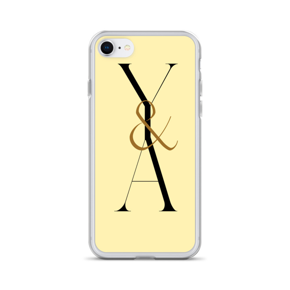 Yes & Amen Yellow iPhone Case