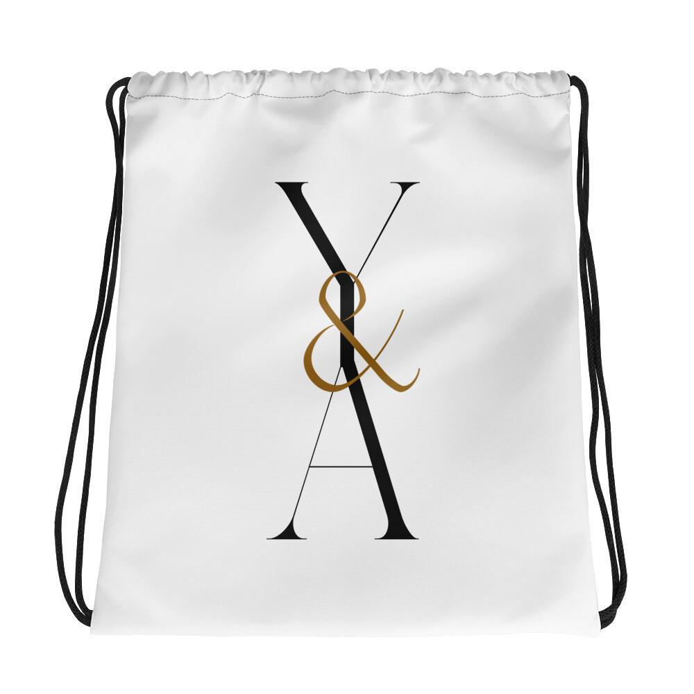 Yes & Amen Drawstring bag