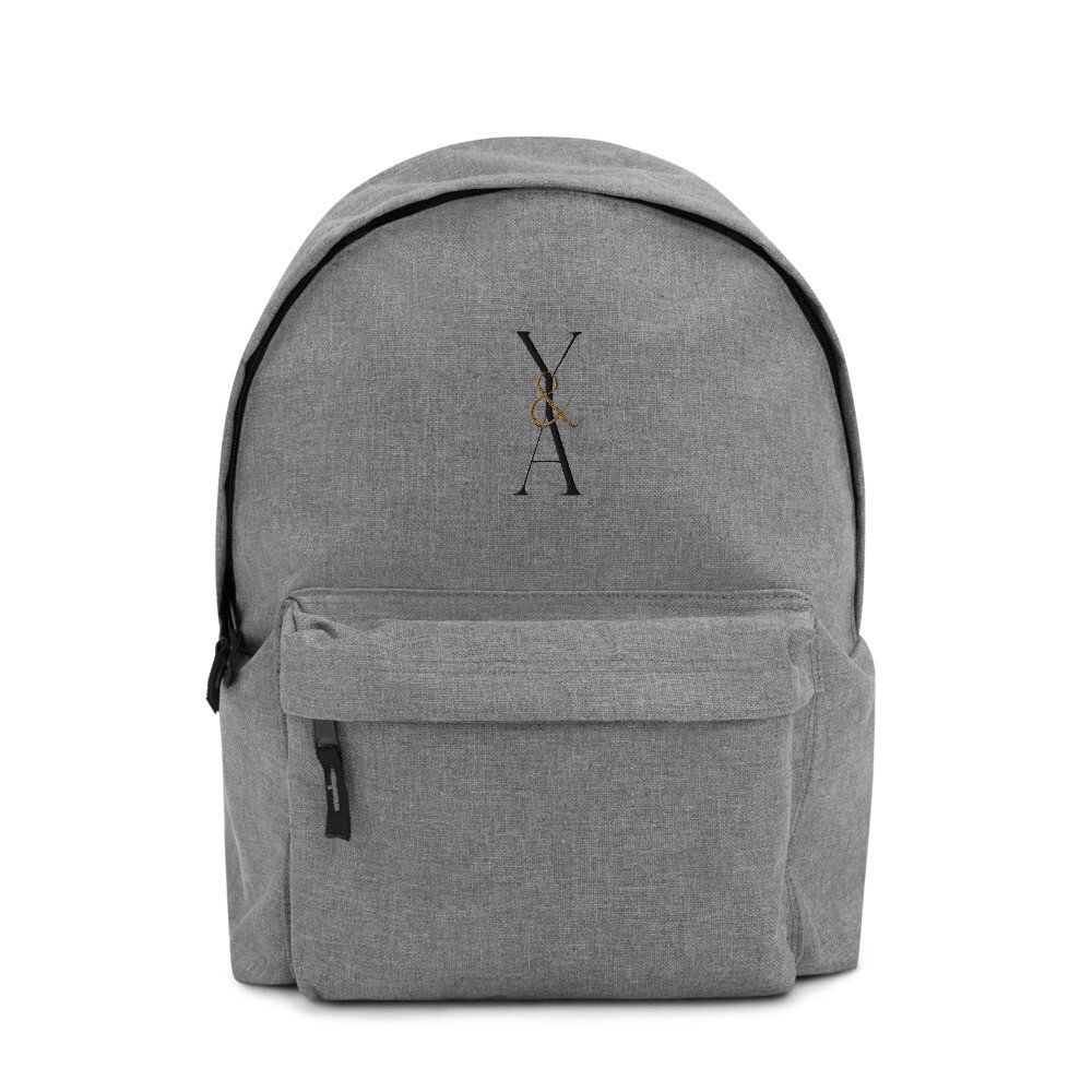 Yes & Amen Embroidered Backpack