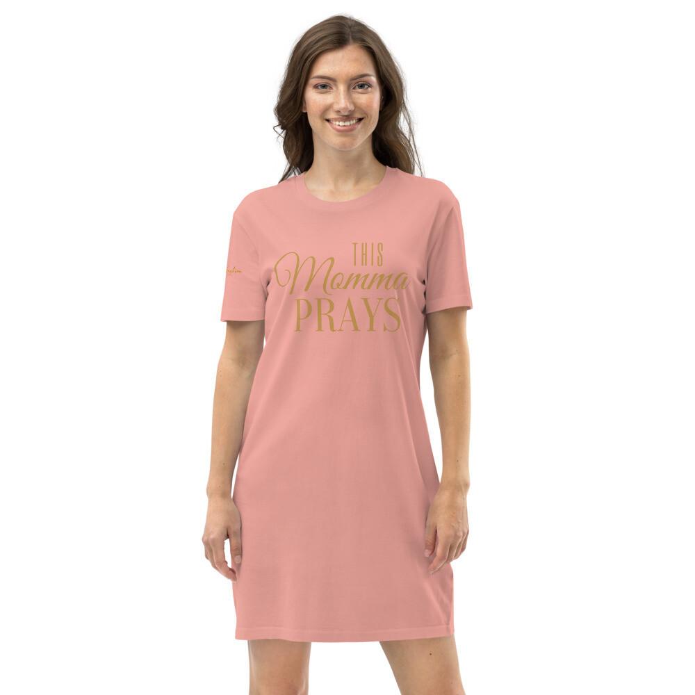This Momma Prays Organic cotton t-shirt dress