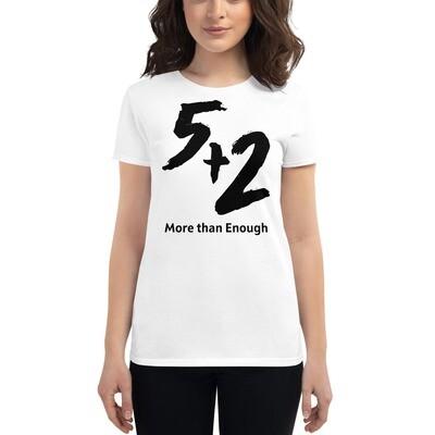 5 and 2 Women's short sleeve t-shirt